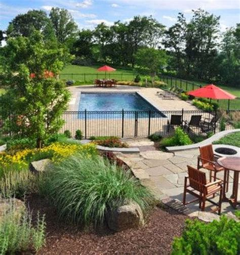 landscaping ideas for pool area 1000 ideas about landscaping around pool on pinterest