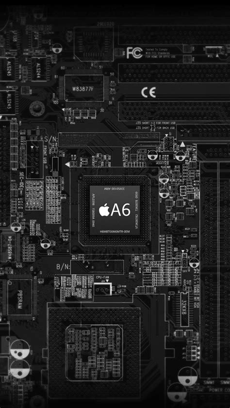 Circuit Board Wallpaper Iphone 6 7 5 Xiaomi Redmi Note F1s Oppo S6 S7 top 10 amazing hd ios 7 wallpapers for iphone 5 ipod touch 5th axeetech