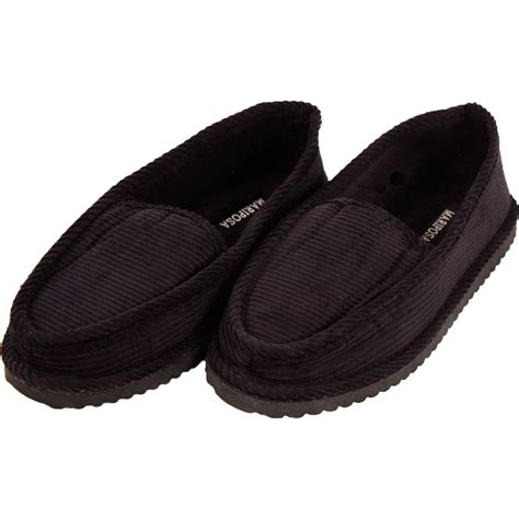 ladies house shoes womens corduroy slippers house shoes moccasin slip on indoor outdoor comfort new ebay