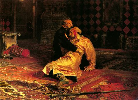 ilya yefimovich repin 1844 1930 ivan the terrible and