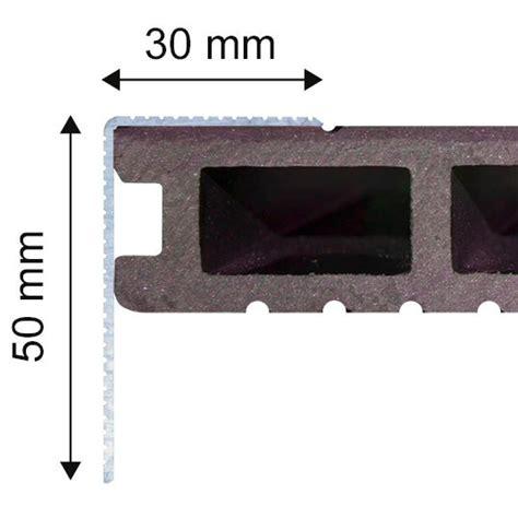 Profil 233 De Finition Aluminium Terrasse Composite Finition Terrasse Composite