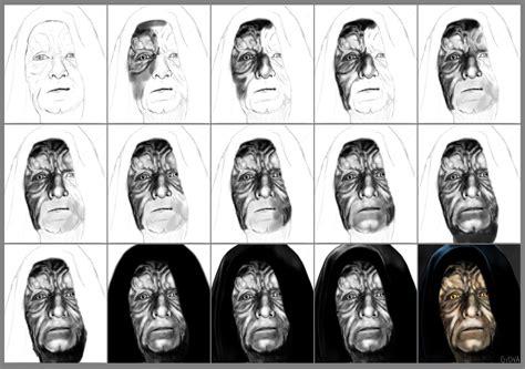 imagenes de star wars a lapiz palpatine star wars dibujo digital taringa
