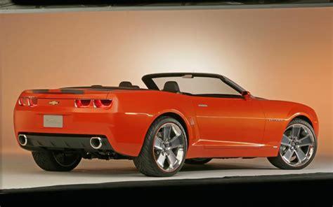 Chevrolet Camaro Convertible Concept   Auto News   Motor Trend