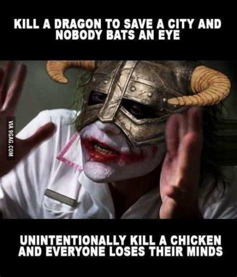 Skyrim Memes And Jokes - skyrim damn ungrateful people things i like just