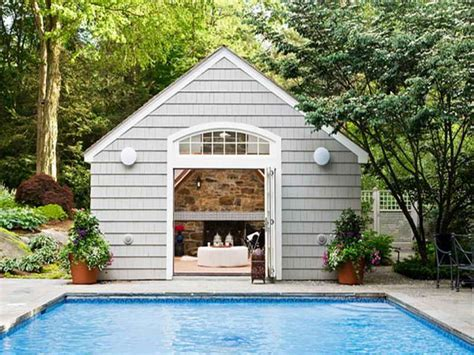 small pool house ideas pool house interior designs images