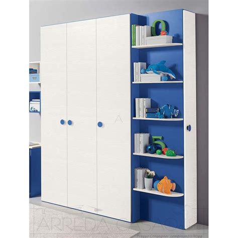 armadio con libreria armadio 3 ante libreria scarpiera cameretta bambini