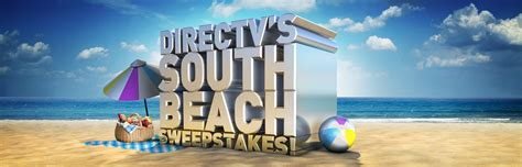 Foodnetwork Sweepstakes - directv s south beach food network sweepstakes enter online sweeps