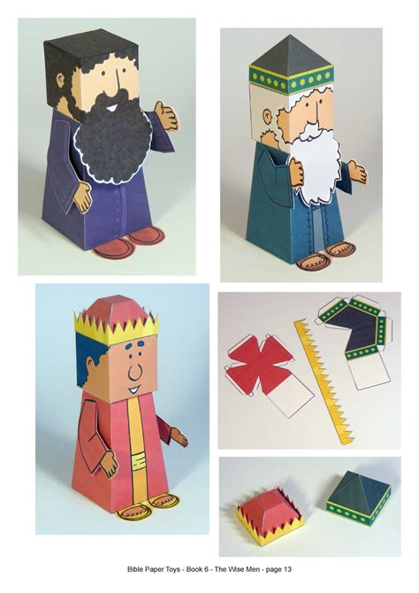 paper craft books free printable bible characters free i crafts