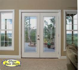 doors with blinds between glass plastpro french doors french door fiberglass front doors