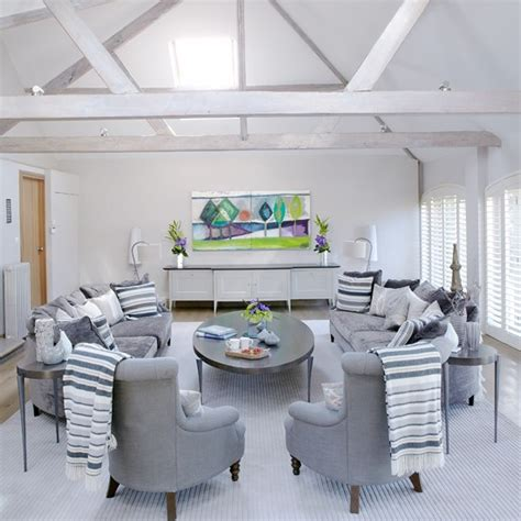 White And Grey Living Room Housetohome Co Uk Grey White Living Room