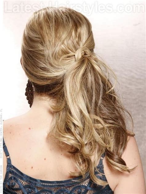formal hairstyles long hair side ponytail prom side hairstyles