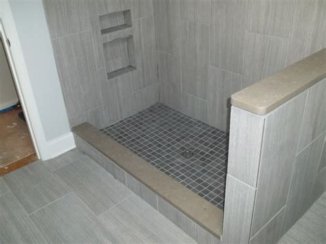 vertical tile bathroom vertical tile contemporary bathroom other metro by