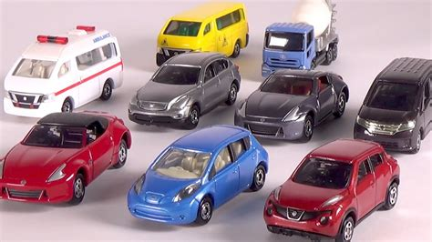 tomica nissan tomica nissan cars truck unboxing