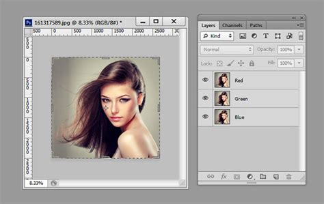 tutorial adobe photoshop for beginners 3d movie photo effect 2 minute photoshop tutorial for