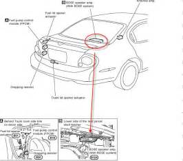 nissan altima speaker locations get free image about