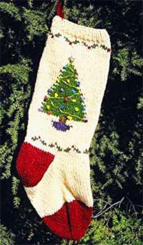 knitting pattern for christmas tree stocking christmas tree stocking kit knitting kit halcyon yarn