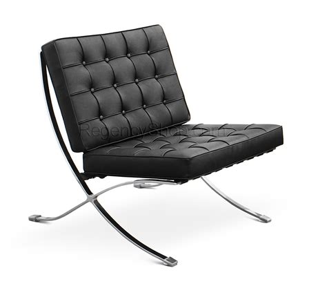 Black Leather Bench Ibiza Chair Clearance Sale Barcelona Chair Replica