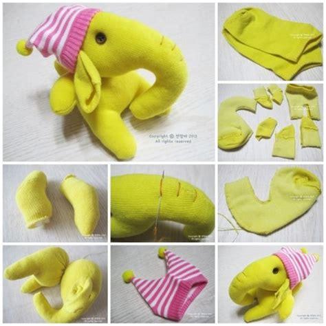 diy crafts with socks diy craft ideas 12 socks made animal soft toys for