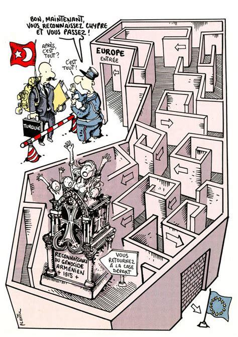 Caricature De Plantu Sur La Question De L Adh 233 Sion De La