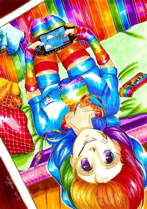 My Pony Gelpen rainbow dash by nekkohime on deviantart