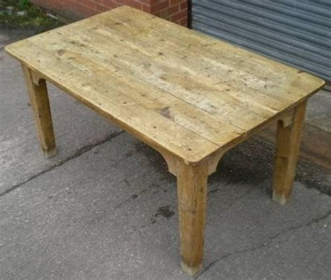 antique pine kitchen table 44537 sellingantiques co uk