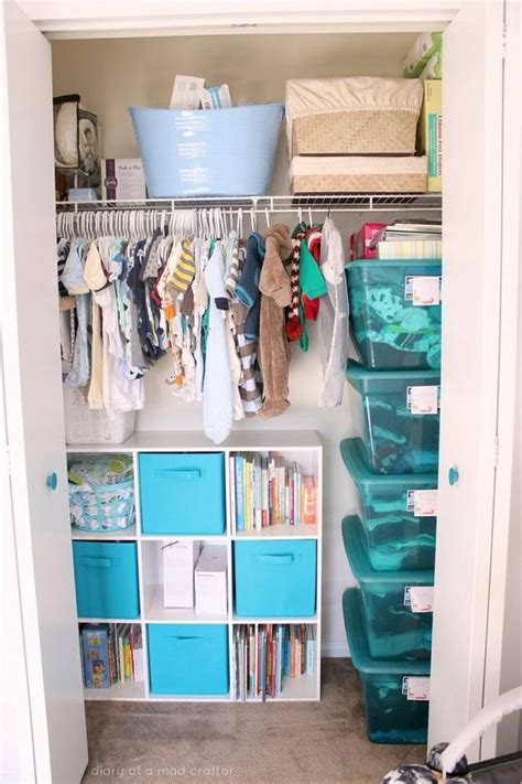 baby closet organizer ideas 35 yet practical nursery organization ideas digsdigs