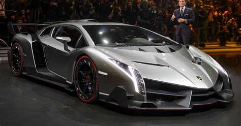 The $4 million Lamborghini Veneno's maiden voyage