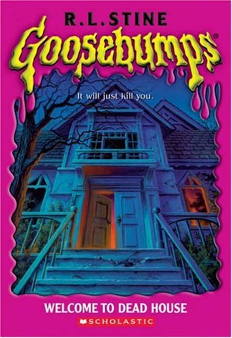 the house books goosebumps by r l stine