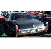 Rear View Of A 1971 Cadillac Fleetwood Series 75 Limousine