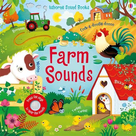 My Noisy Words Tiny Tots Sound Board Book Buku Impor Anak farm sounds at usborne children s books