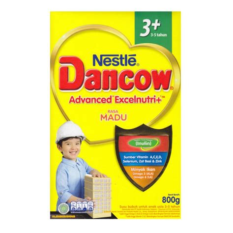 Nestle Dancow 3 jual murah nestle dancow advanced excelnutri plus 3 5