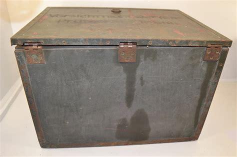 caisse de bureau caisse de transport allemande mat 233 riel radio ou bureau de