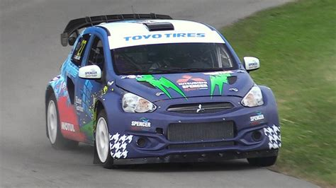 mitsubishi supercar mitsubishi mirage rx supercar driven flatout up goodwood