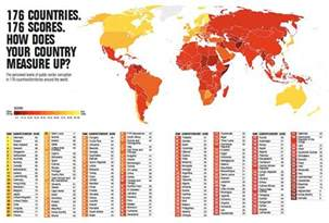 World Map Of Corruption map of world corruption 187 darkgovernment