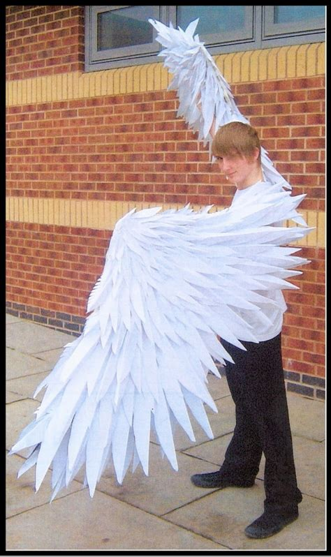 How To Make Paper Wings For A Costume - 41 best images about costume owl on chasing