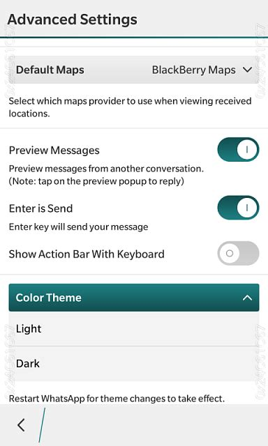 whatsapp themes for blackberry changes in latest whatsapp blackberry forums at