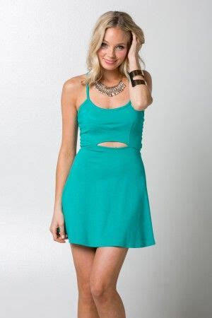 style number s4d1173d23 cut out halter flare dress by