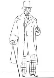 how to draw a victorian boy victorian men s fashion coloring page free printable