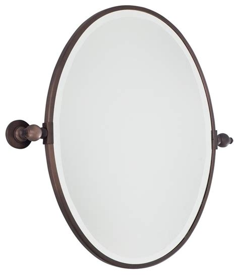 bathroom tilt mirror oval tilt bathroom mirror 3 finishes bathroom mirrors