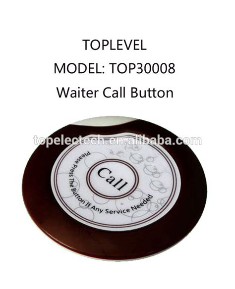 Call Table by Service Table Call Bell Waiter Call Table Button Customer
