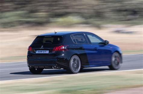 peugeot 308 gti blue 2017 peugeot 308 gti review autocar