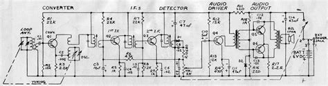 transistor radio schematic diagram lifier problems with conversion of 1960s era