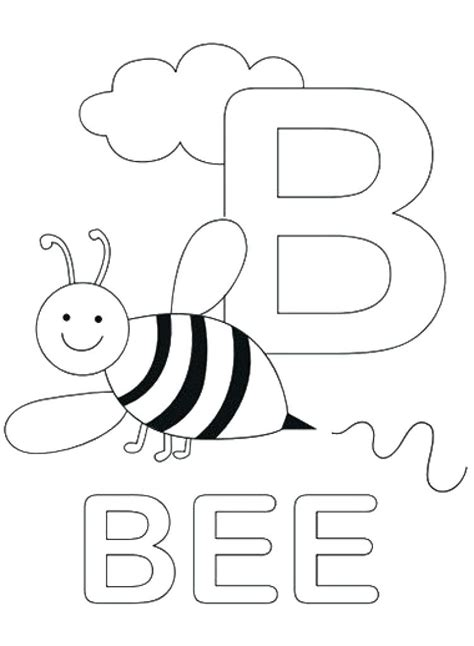 B Coloring Page by Letter B Coloring Sheets Coloring Pages For Printable
