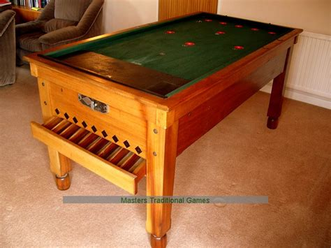 bar billiards table reconditioned to order