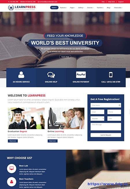 templates for learning website 20 best lms learning management system website