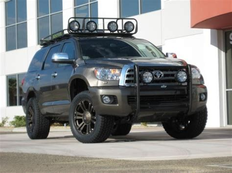 Toyota Sequoia Lifted Revtek 2008 2016 Toyota Sequoia 2 5 Quot Lift System 441