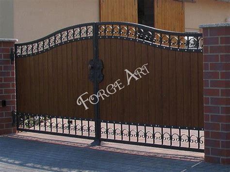 barriere en bois 1161 portails battants forge