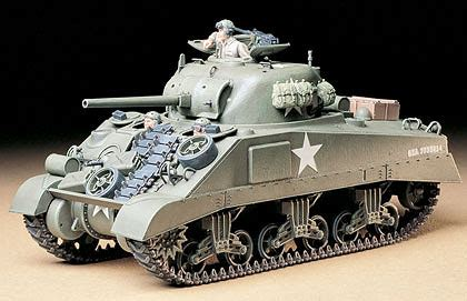 Baskom Plastik No 16 Komet u s medium tank m4 sherman