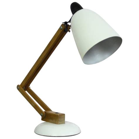 Anglepoise Style Desk L by Vintage Terence Conran For Habitat White Macl Anglepoise Desk L At 1stdibs