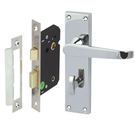 bathroom locks victorian polished chrome lever straight bathroom door